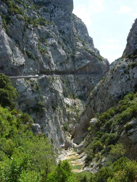 Gorges De Galamus En Camping Car